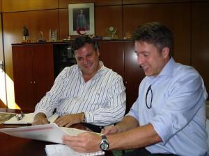 Isidro García Téllez och Jörgen Held